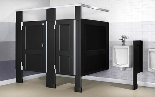 The Cutting Board Factory - Derriere Dividers - Restroom Partitions - Bathroom Dividers
